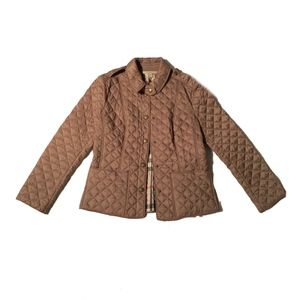 Burberry Brit EUC Quilted Jacket